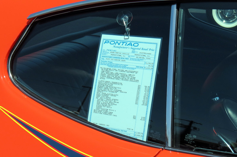 "A legit Judge is actually a rare car, (6,725 were produced in 1969).  This car was displayed with a copy of the original window sticker that confirms the Judge option.  The ""Ram Air"" engine, otherwise known as the RAIII, was standard on the Judge."