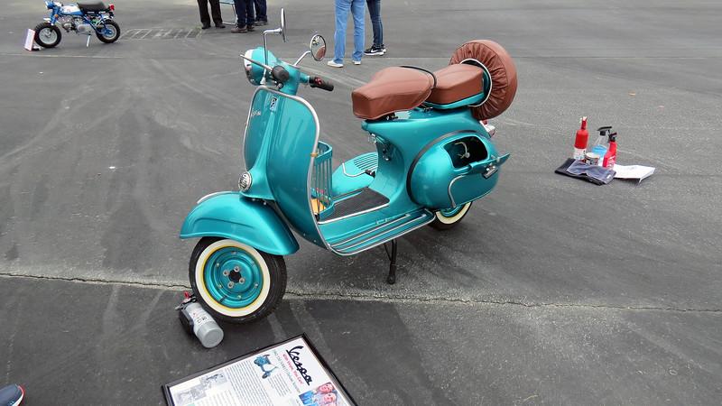 1962 Vespa 150.