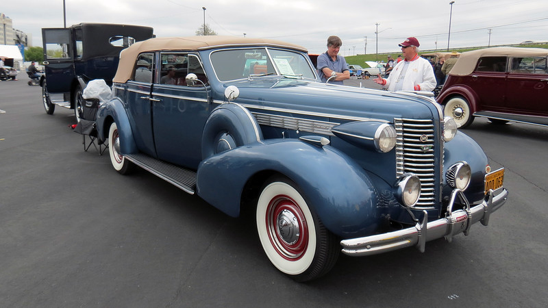 1938 Buick Series 80 Roadmaster convertible.