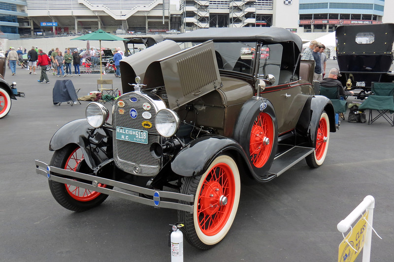 1929 Ford Model A roadster.