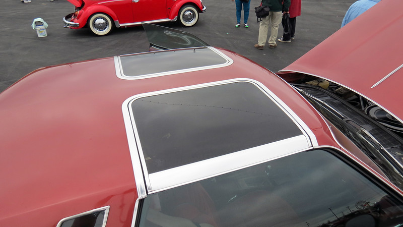 This car has the optional Hurst Hatch T-Tops.