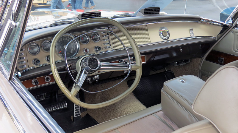 I'm a big fan of late-1950s and 1960s Chrysler products.  Stylists and engineers did a great job with the interiors designs.