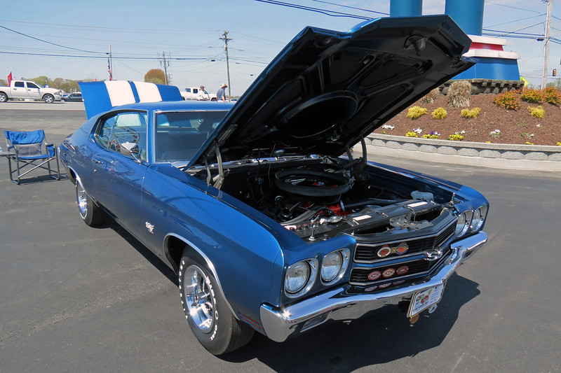 1970 Chevrolet Chevelle SS454.<br /> <br /> I've made it to Class 36G:  Factory High Performance, Chevrolet and Oldsmobile, 1970 - 1981.