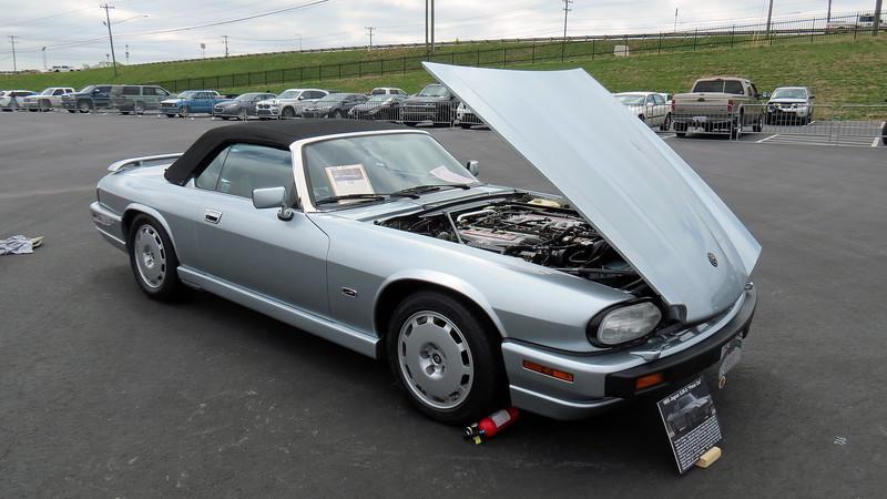 1993 Jaguar XJR-S convertible.