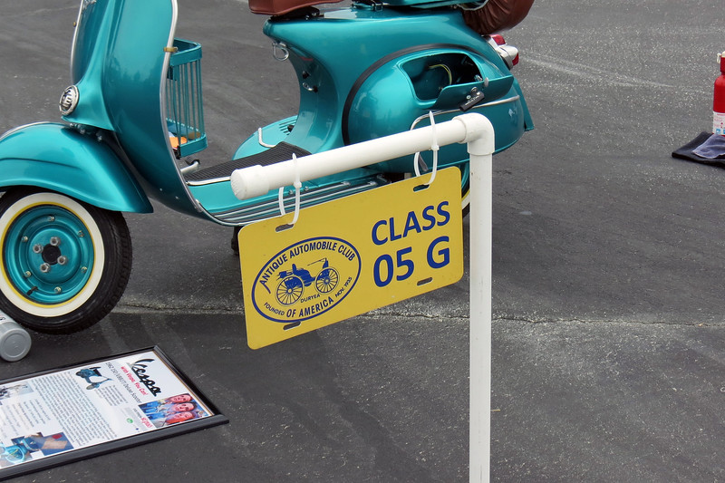 Class 05G:  All motor scooters and other two or three-wheeled vehicles with small diameter wheels (excluding Mustang cycles), 1961 - 1993.