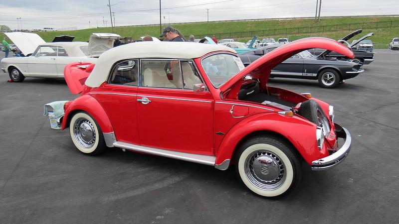 1968 Volkswagen Beetle Karmann convertible.