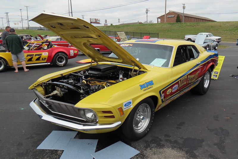 1969 Ford Mustang Mach I.