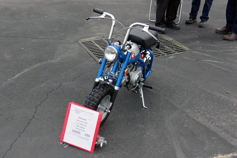 1969 Honda Z50-A.