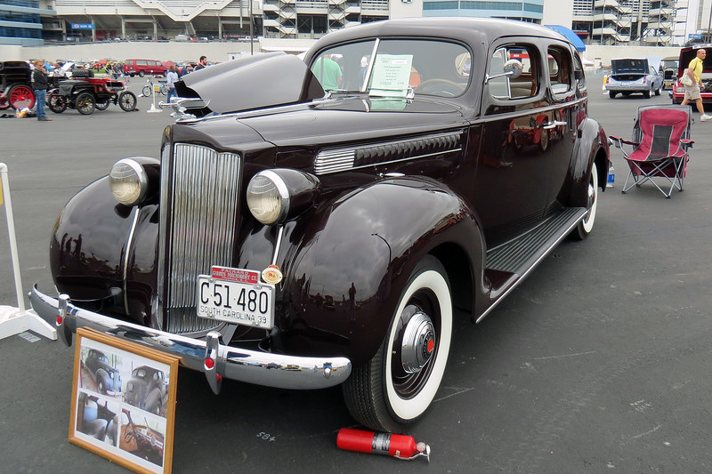 1939 Packard Six touring sedan.