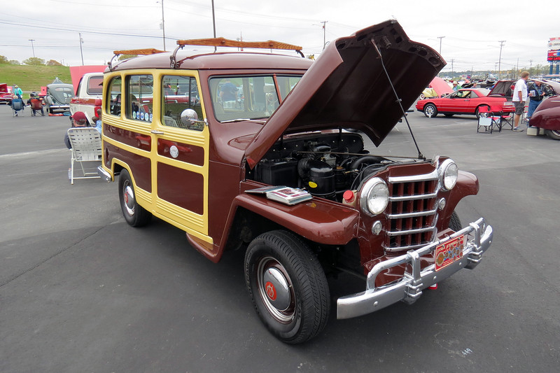1950 Willys Overland Jeep Station Wagon.