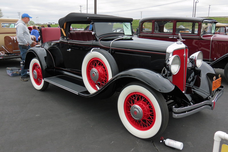 Studebaker built both 6-cylinder and 8-cylinder cars for 1931.  The Model 54 was the upper-level 6-cylinder line.  It was also the most popular of Studebaker's seven model lines available that year.