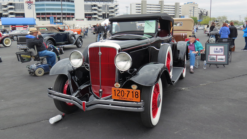 Speaking of Studebaker, 1931 Studebaker Model 54 Six.