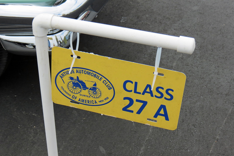 Class 27A:  Production Vehicles excluding 1955 Chevrolet, 1954 - 1955.