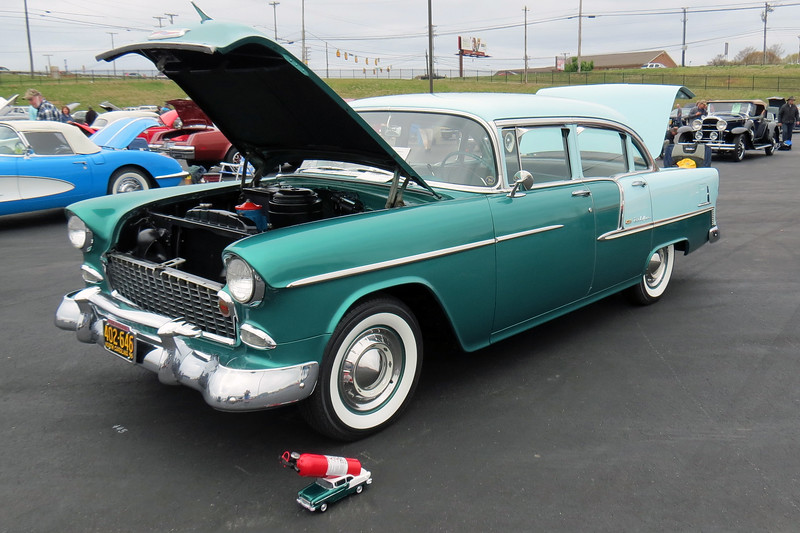 1955 Chevrolet Bel Air.