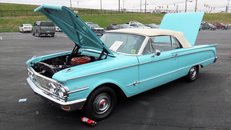 1963 Mercury Comet S-22 convertible.