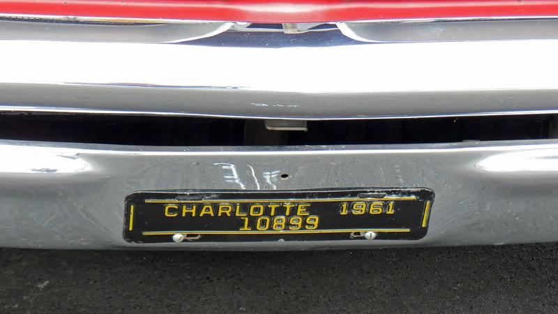 1961 Pontiac Bonneville convertible.