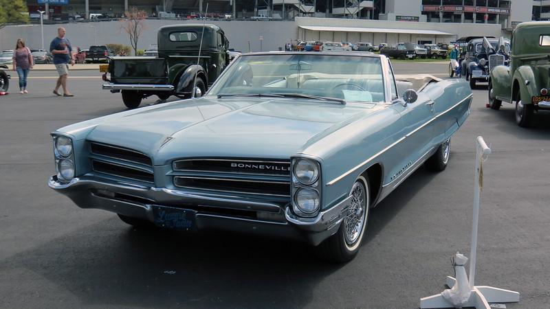 1966 Pontiac Bonneville convertible.