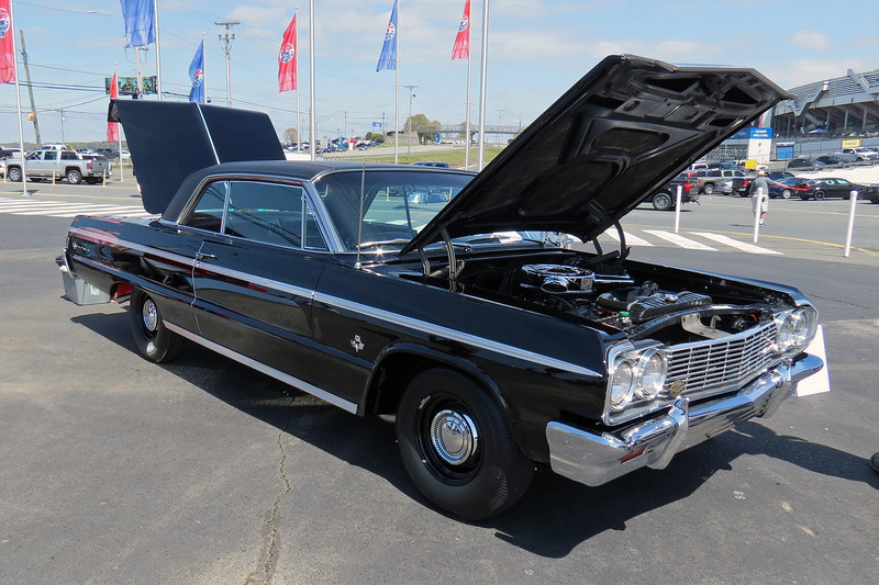 Rounding out the trio of 409 Chevrolets was a 1964 Impala SS.