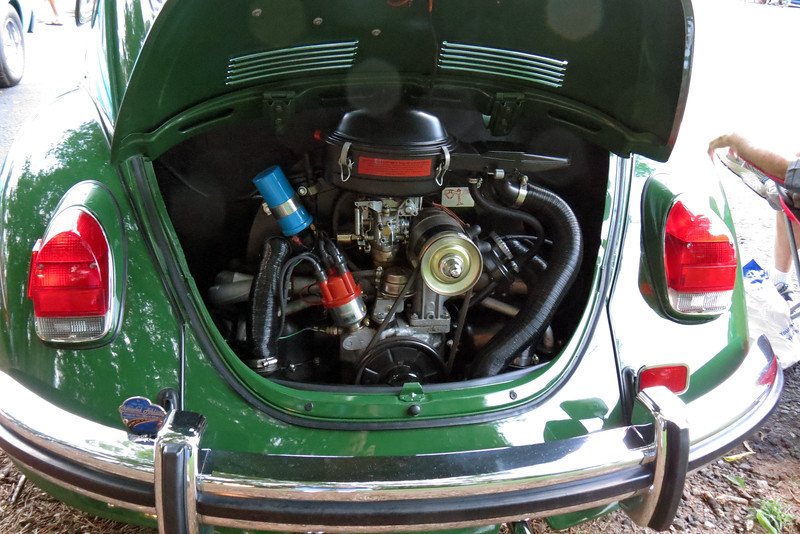 The 1.6L air cooled Flat-4 makes 60 hp.