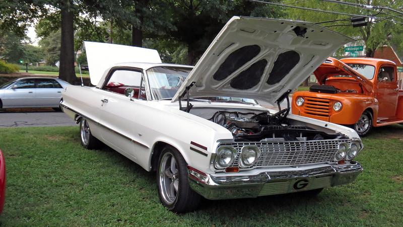 1963 Chevrolet Impala.