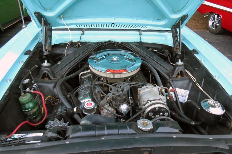 The 260 CID V8 makes 164 hp.