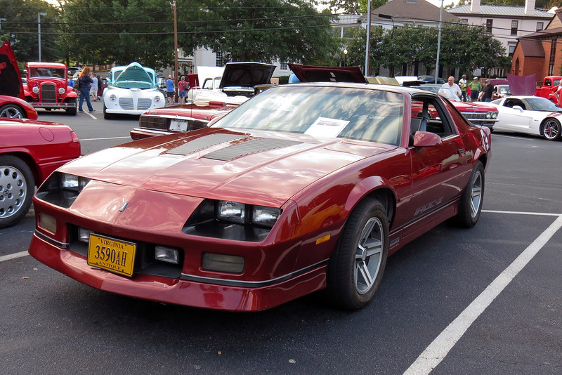 1987 Chevrolet Camaro Iroc-Z.  This is an 11k original mile car that was loaded with just about everything available that year.