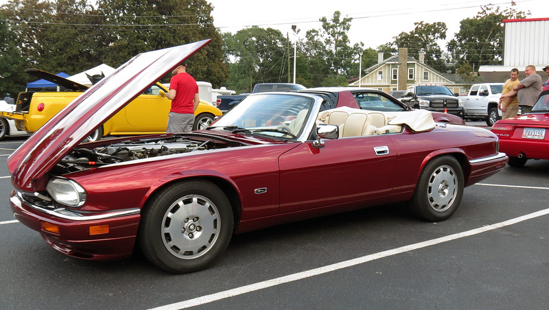 I cleaned the XJS up and hit the monthly show for August at The Varsity in Athens, Georgia.