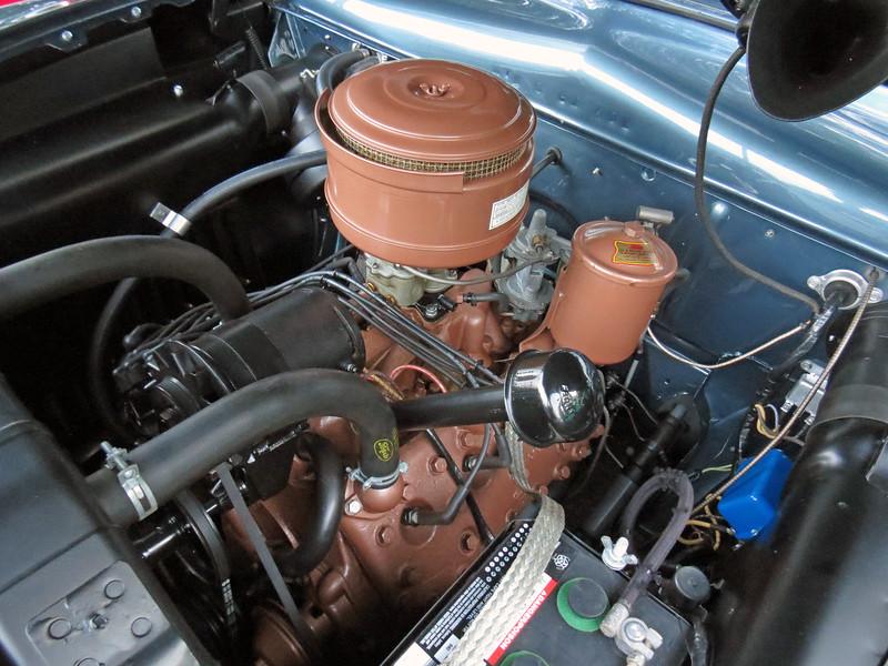 The 239 CID Flathead V8 made 100 hp.