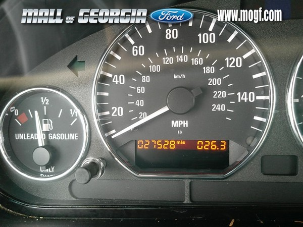 This is the primary reason why I wanted to check the car out.  The 27k original miles made me look twice at the online ad, and the decent price convinced me to check the car out in person.