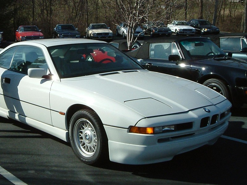 BMW 8-Series Coupe.