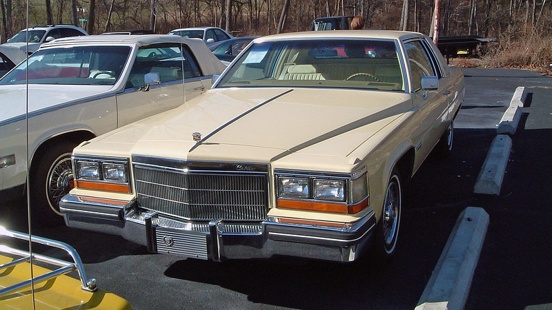 """1982 Cadillac Coupe de Ville, 33k original miles, $8,995.  <br /> <br /> These cars, while absolutely beautiful to look at, contained an asterisk in terms of mechanical reliability thanks to the car's 4.1L """"HT4100"""" V8 engine.  I refer to this engine as a """"Hit & Miss"""" engine, meaning getting a good one was a hit and miss proposition.  I owned an '84 a few years earlier with the HT4100.  And while mine made a lot of threatening noises, it (thankfully) never let me down."""