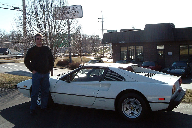 """This 30k mile original was attractively priced at $34k.  But """"purchasing"""" a Ferrari and """"owning"""" a Ferrari are two very different things."""