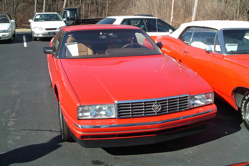 """1989 Cadillac Allanté, 41k original miles, $14,900.<br /> <br /> Cadillac introduced the Allanté in 1987 as a domestic alternative to the Mercedes SL-Class and Jaguar XJS convertibles.  But as with all new GM introductions from that era, the final product was incredibly underwhelming.  The beautiful Pininfarina body was saddled with a derivative of the troublesome and grossly underpowered HT4100 V8 and a button-happy instrument panel.  Buyers stayed away in droves.  The engine was completely redesigned for 1989 and was a tremendous improvement.  But sales were still well below expectations.  By the time GM got it right and fitted the car with the 280 hp 4.6L """"Northstar"""" V8 for 2003, they pulled the plug."""