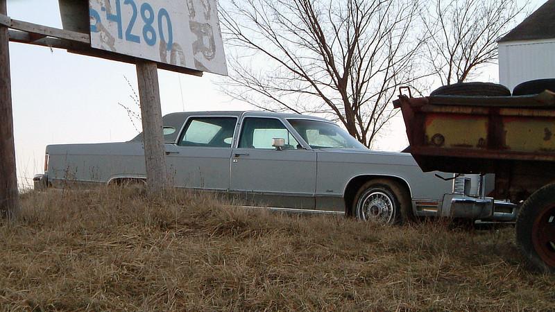 A 1977 - 79 Lincoln Town Car.