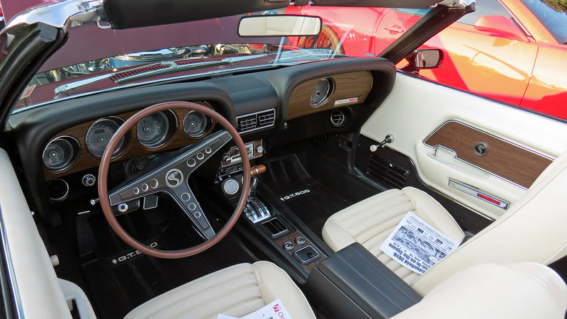According to the For Sale sign on the dash, this car could be purchased for $55k.  This seems awfully low, (Shelby convertibles sell for well into the 6 figures), and makes me wonder if it's a tribute car.