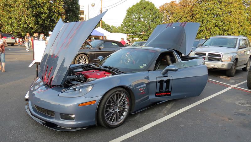 2011 Chevrolet Corvette Z06 Carbon Fiber Edition.