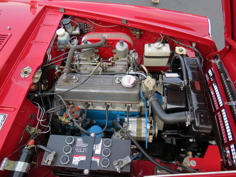 Power comes from Datsun's 1.6L inline 4-cylinder engine that makes 96 hp.