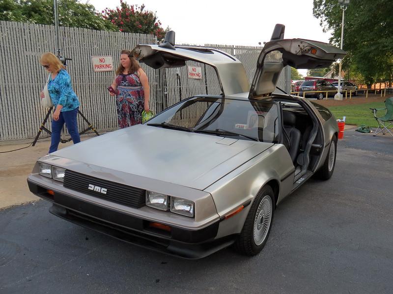 A rare DeLorean.