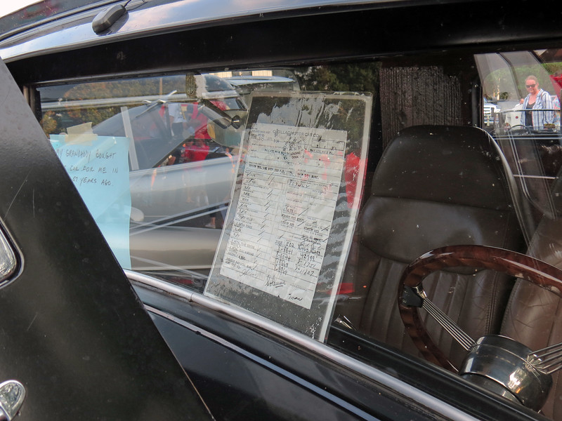 This car was a gift to the car owner from his grandfather in 1959.  The copy of the build sheet shown above shows Fisher Body code 31258, which is a 2 door coupe.