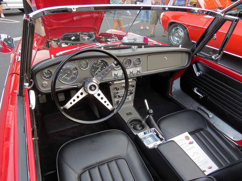 "This car was beautifully restored and won a ""Best in Cruise"" award."