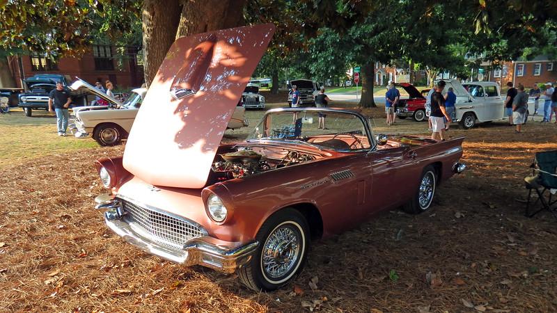 1957 Ford Thunderbird.