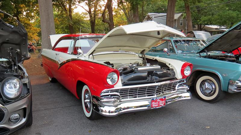 1956 Ford Fairlane Victoria.