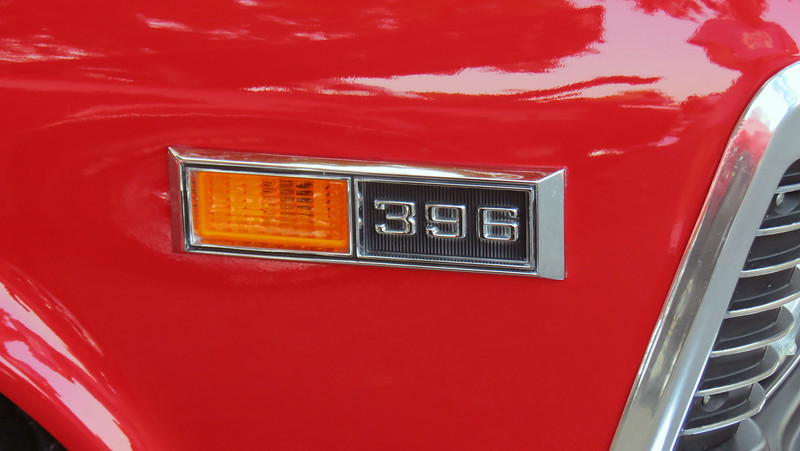 Only 7,209 Novas left the factory with the 396 CID big block V8.