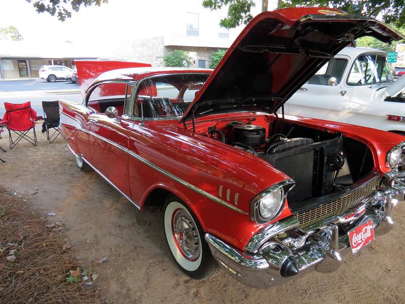 1957 Chevrolet Bel Air hardtop.