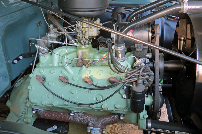 Power comes from a 239 CID Flathead V8 that makes 100 hp.