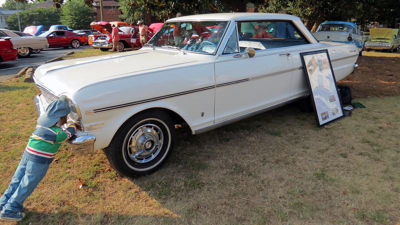 1963 Chevrolet Nova SS.