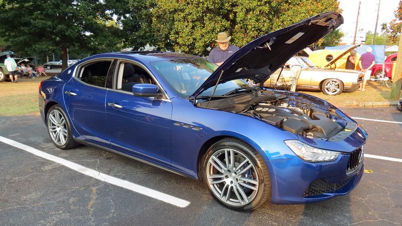 New Maserati Ghibli.