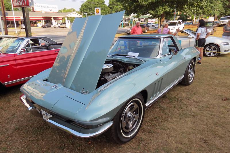 1966 Chevrolet Corvette convertible.