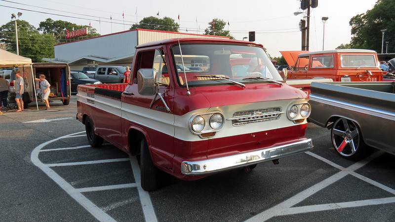 Chevrolet Corvair 95 Rampside.