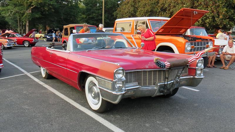 1965 Cadillac Deville convertible.